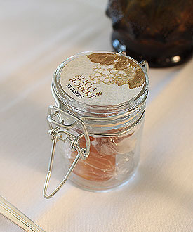 Mini Glass Candy Jar with Wire Snap Wedding Favor Accessory-Mini Glass Candy Jar with Wire Snap Wedding Favor Accessory