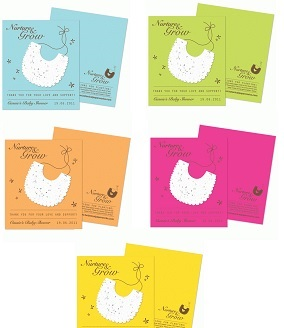 Plantable Bib Favor-Plantable Bib Favor