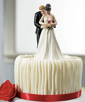 Yes to the Rose Couple Romantic Wedding Cake Topper-Yes to the Rose Couple Romantic Wedding Cake Topper