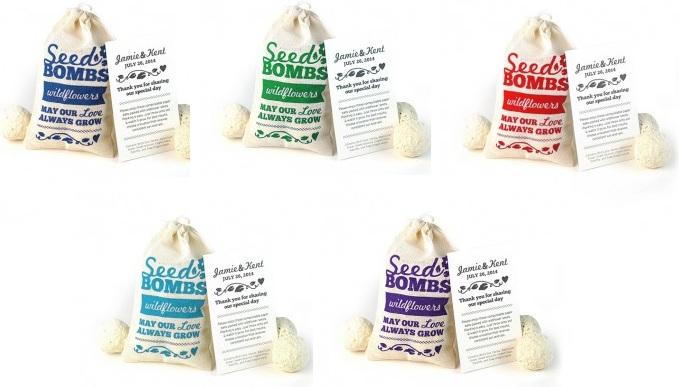 Wildflower Seed Bombs Favor-Wildflower Seed Bombs Favor